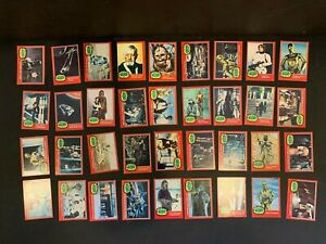 1977 Topps Star Wars 2nd Series Complete 66 Red Trading Card Set EX