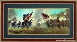 Battle of Gettysburg with a Rebel Yell by Mort Kunstler Poster
