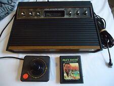 Atari 2600 SUNNYVALE CA CX-2600 complet avec PELE'S SOCCER ET 1 JOYSTICK-RARE