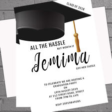 Graduation Invitations Celebration Graduatation Party x 12 + envelopes H1696
