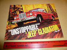 1967 ? Unstoppable Jeep Gladiator Sales Brochure