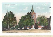M E Church Angola In Used Methodist Episcopal Postcard 693