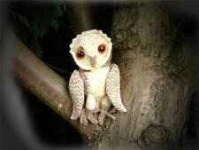 MR BARN OWL toy  knitting pattern by GEORGINA MANVELL