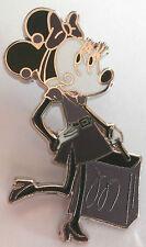 Disney Pin MINNIE Paris Fashion Glamour Set WITH SHOPPING BAG Mouse SHIP DISC