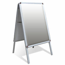 A1 A-Board Pavement Sign Poster Snap Frame Outdoor Shop Sign Display Stands