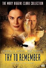 Try To Remember (DVD, 2005) MARY HIGGINS CLARK BRAND NEW SEALED SLIM CASE