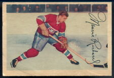 1953-54 PARKHURST HOCKEY #24 MAURICE RICHARD HOF VG-EX Montreal Canadiens Card