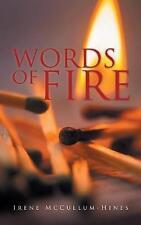 Palabras De Fuego Por Irene McCullum-Hines (de Bolsillo/Softback, 2017)