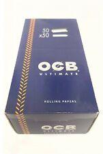 OCB ULTIMATE Rolling Papers 50 Booklets FULL BOX REGULAR