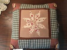 Country Farmhouse Quilted Pillow