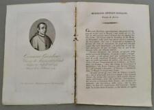 REGNO DI NAPOLI. Campania. MONSIGNOR GENNARO GIORDANO. Vescovo di Acerra...