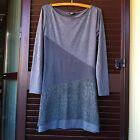 Abito grigio Motivi midi ecopelle vestito vestitino abitino zara mango h&m bersh