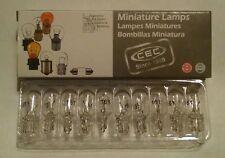 NEW MINI LAMPBULB #161 FOR PINBALL/ARCADE/MAME BOX OF 10