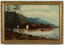 AMERICAN SCHOOL (LATE 19TH/EARLY 20TH CENTURY) LANDSCAPE PAINTING Lot 1212