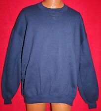 Vintage RUSSELL ATHLETIC Blue Blank 50/50 SWEATSHIRT 2XL XXL New With Tag Vtg