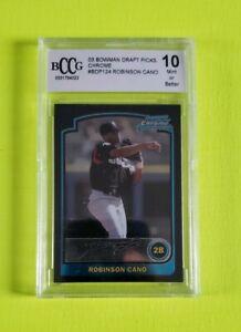 2003 Bowman Chrome Draft #124 Robinson Cano RC BCCG 10 Chc