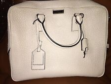 Burberry Crossbody Leather Briefcase