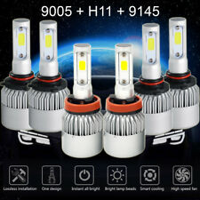H11 9005 9145 LED Headlight+Fog Light for Dodge Ram 1500 2500 3500 09-2018 4500W