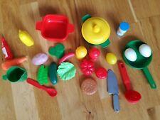 CHILDREN'S PLASTIC KITCHEN ITENSILS AND  KITCHEN ITEMS