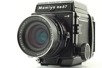 【Exc+5】 Mamiya RB67 Pro S Film Camera sekor c 65mm f/4.5 from Japan