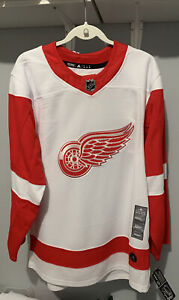 Adidas NHL Detroit Red Wings Authentic Hockey Jersey 252JA Size 46