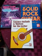 GUITAR INSTRUCTION BOOKS COLLECTION 3 BOOKS.