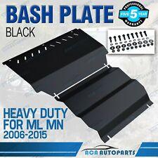 Bash Plate for Mitsubishi Triton ML & MN BLACK 3mm Intercooler & Sump Guard
