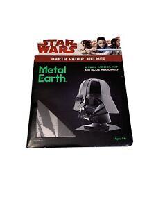Fascinations Metal Earth Darth Vader Helmet Unassembled Color 3D Metal Model Kit