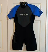 Body Glove Pro 2 2.1 Wetsuit WOMENS Size 9/10 Blue/Black Used Good Condition