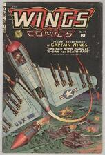 Wings #114 Summer 1951 Vg+