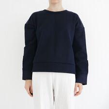 Course Dames Sweatshirt Pull court cropped NASA-Print Logo agita Coton