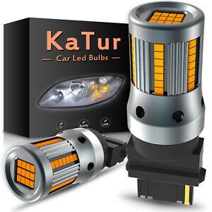 2X KaTur Canbus T25 3156 3157 LED Reverse Brake Parking Light Bulb Error Free UK