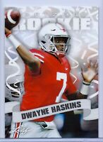 "DWAYNE HASKINS 2019 LEAF ""PRIZED"" ROOKIE CARD #03! OHIO STATE BUCKEYES!"