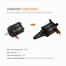 SUNNYSKY X2820 800KV 3-5S Brushless Motor for RC Airplane Fixed-wing K9F6
