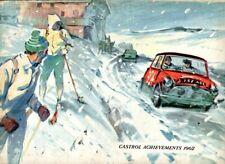 Castrol logros 1962 Mini Cooper Monte Carlo Rally Cubierta