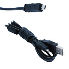 HQRP USB Cable for FujiFilm Finepix Z81FD Z85FD Z90 Z91 Z100FD Z200FD Z300FD