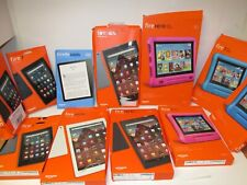 MIX LOT OF AMAZON FIRE HD 10, FIRE HD8,HD7, KINDLE MIX FOR PARTS ( 11 UNITS)
