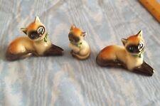 Goebel -  Siamese Cat & Kitten Figurines Set of 3