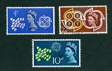 1961 GB CEPT European Post & Telecoms. SG 626-628