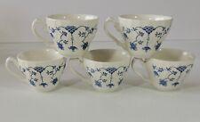 5 Churchill England Georgian Collection Finlandia Coffee Tea Cups EUC