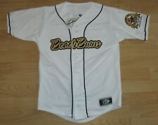 TRAVERSE CITY BEACH BUMS STITCHED BASEBALL JERSEY YOUTH MEDIUM - WHITE