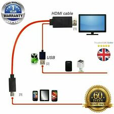 MHL Micro USB to HDMI 1080P HD TV Cable Adapter For Android Phones Samsung S10 P