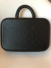 Louis Vuitton Glace Black Monogram Valisette PM Case Bag Luggage Briefcase