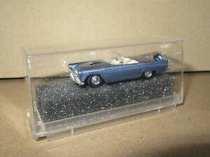 144Q Praliné 5204 Allemagne Ford T-Bird Cabriolet Luxe Bleu Ho 1:87 + Boite