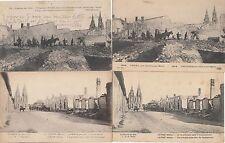 Lot 4 cartes postales anciennes GUERRE 14-18 WW1 MARNE L'EPINE 1