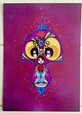 "Disney WONDERGROUND ""Deep Eyes"" COCO Postcard Francisco Herrera"
