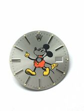 Rolex Datejust Mickey Mouse Man Dial