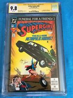 Action Comics #685 - DC - CGC SS 9.8 NM/MT - Signed by Roger Stern - Superman