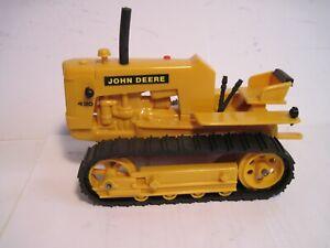 John Deere Farm Toy Tractor 430 Industrial Crawler Ertl? 1/16