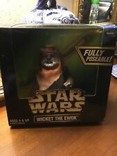 "Star Wars 1998 12"" Action Collection Wicket The Ewok MISB Sealed New"